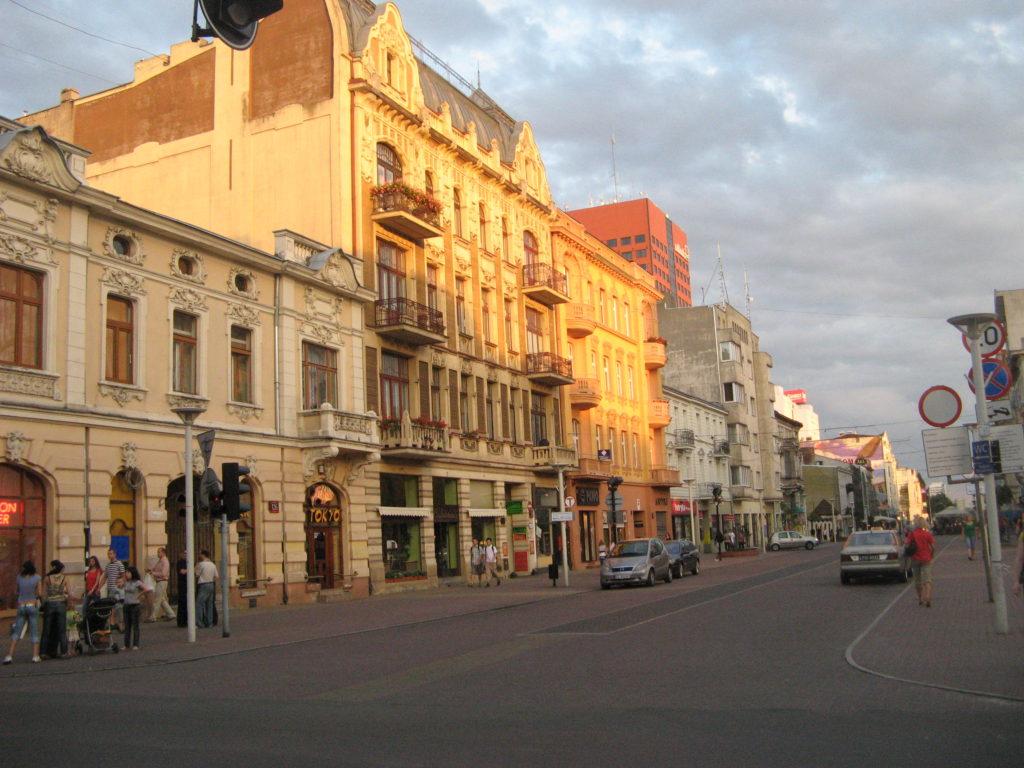 Piotrowkowska street